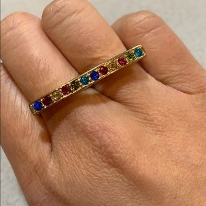 Forever 21 Rainbow Crystal Ring